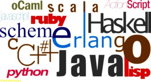 Các ngôn ngữ lập trình phổ biến.