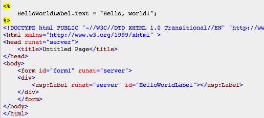 Ngôn ngữ lập trình ASP.net