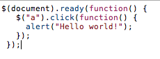 Ngôn ngữ lập trình jQuery