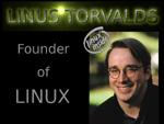 Linus Torvalds là người Phần Lan, nhưng sử dụng rất thành thạo tiếng Anh.