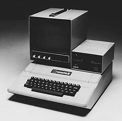 Máy tính cá nhân đầu tiên Apple II